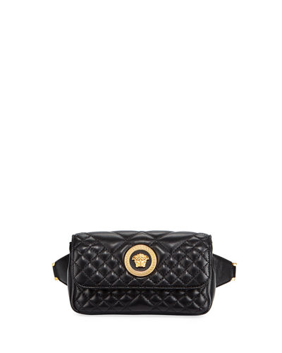 Icon Quilted Lather Micro Belt Bag