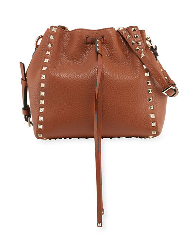 Rockstud Small Bucket Bag