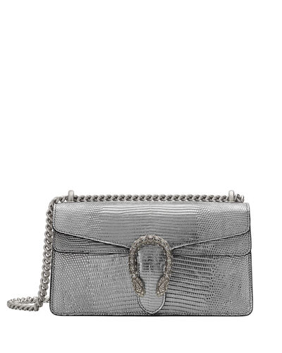 Dionysus Small Metallic Lizard Shoulder Bag