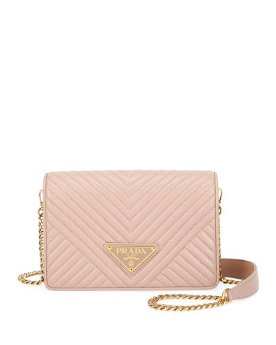 Diagramme Small Crossbody Bag w/ Removable Strap