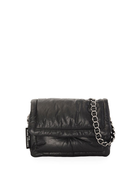 The Marc Jacobs The Pillow Shiny Leather Shoulder Bag