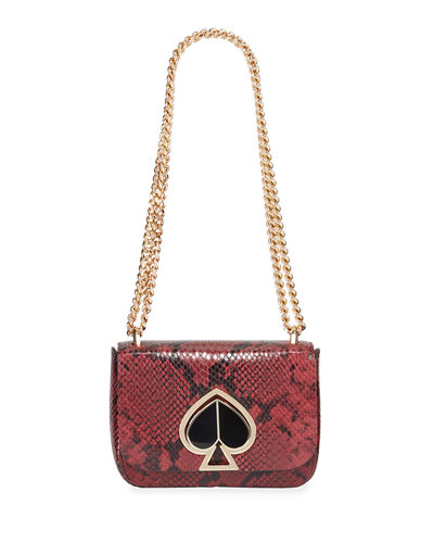 nicola small chain shoulder bag