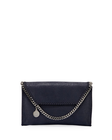 Stella McCartney Falabella Mini Shaggy Deer Wallet on Chain