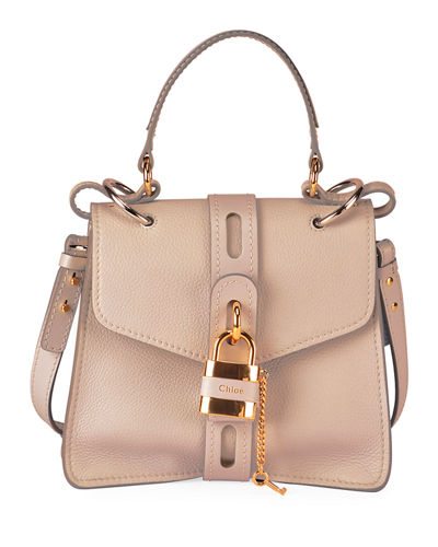Aby Small Grained Top-Handle Bag