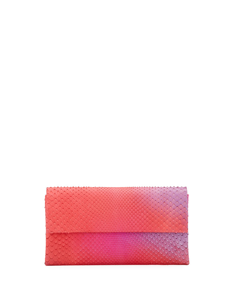 Nancy Gonzalez Gotham Python Clutch Bag