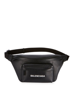 5f870de269c Balenciaga Everyday Pebbled Leather Belt Bag