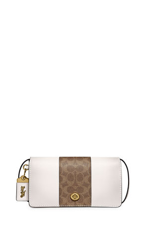 Coach 1941 Dinky Coated Canvas Signature Crossbody Bag