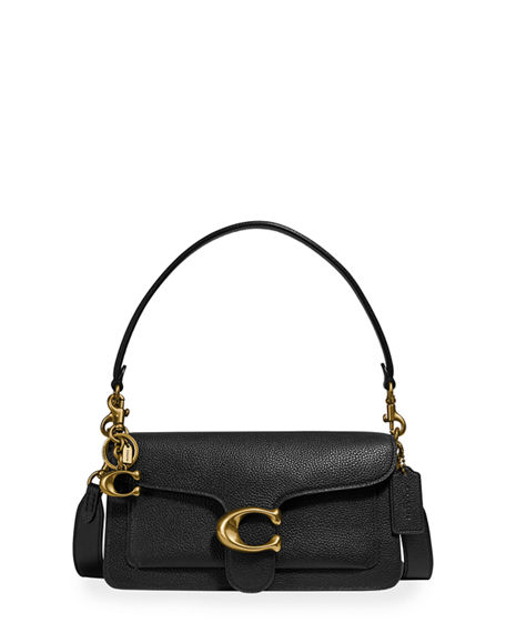 Coach 1941 Pebbled Polished Shoulder Bag