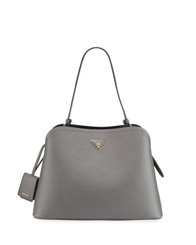Large Matinee Top-Handle Tote w/ Removable Crossbody Strap