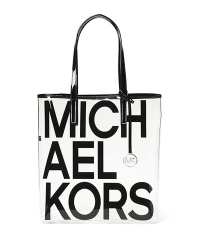 The Michael Large North/South Logo Tote Bag