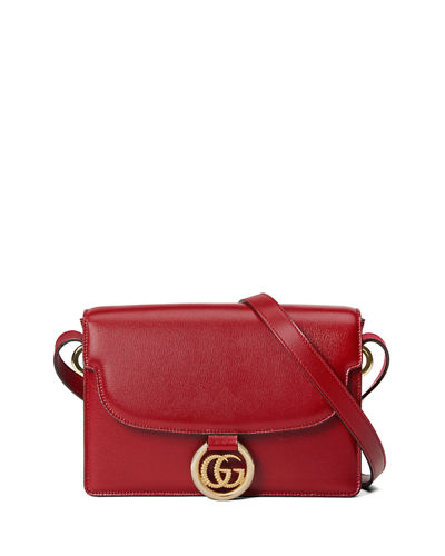 GG Ring Small Leather Crossbody Bag