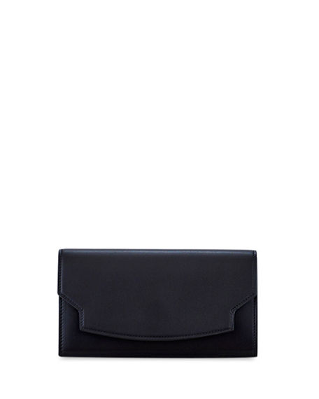THE ROW Lady Wallet in Soft Leather