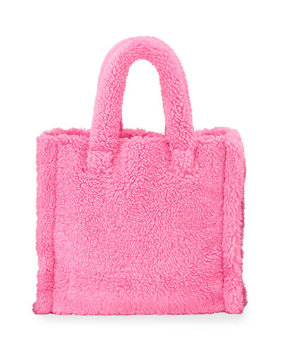 Teddy Faux-Fur Medium Tote Bag