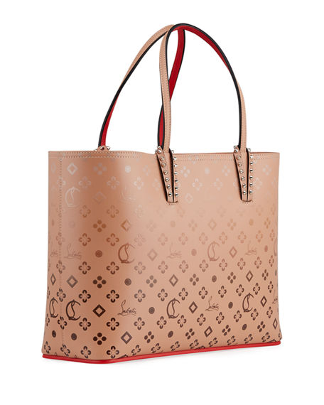 Image 3 of 4: Christian Louboutin Cabata Loubinthesky Red Sole Tote Bag