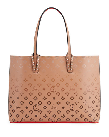 Image 1 of 4: Christian Louboutin Cabata Loubinthesky Red Sole Tote Bag