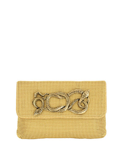 Serpents Chain-Mail Clutch Bag