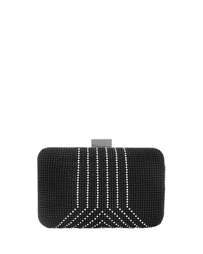 Yves Crystal Minaudiere Clutch Bag