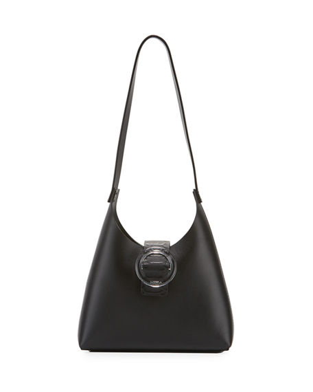 IMAGO-A Exclusive Lucite Buckle Shoulder Bag