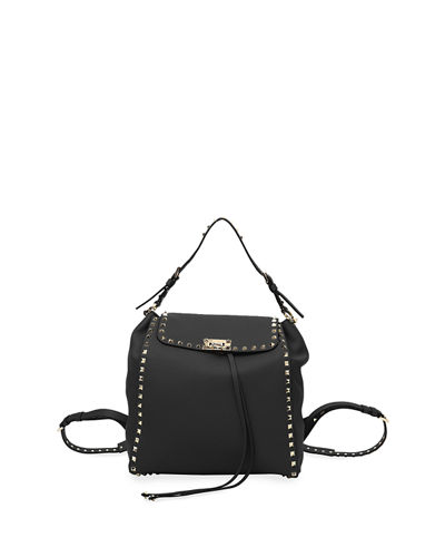 Rockstud Vitello Stampa Backpack