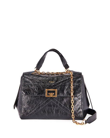 Givenchy ID Medium Creased Shoulder Bag