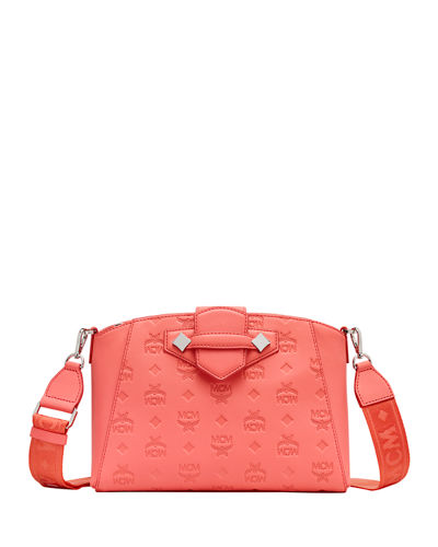 Essential Monogrammed Leather Crossbody Bag