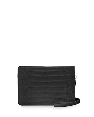 Nancy Gonzalez Small Soft Crocodile Crossbody Bag