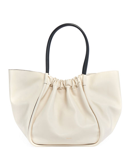 Proenza Schouler Extra Large Ruched Smooth Tote Bag