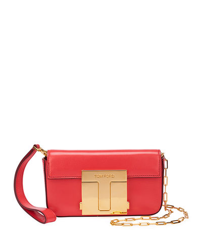 Shiny Goat T-Clasp Mini Crossbody Bag