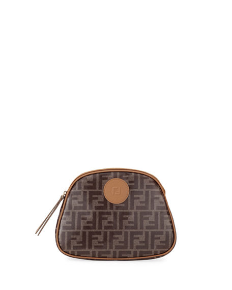 Image 1 of 3: Fendi FF Fabric Cosmetics Case