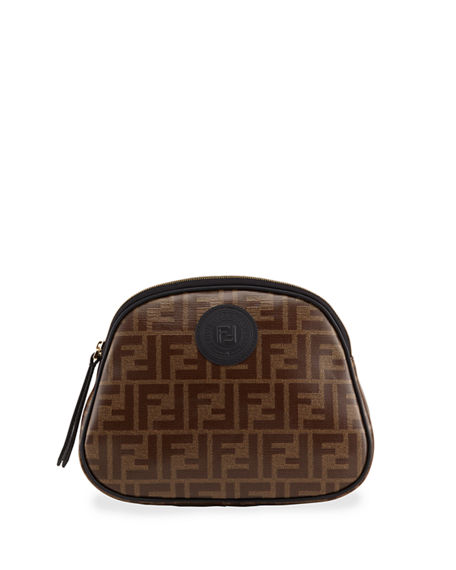 Fendi FF Fabric Cosmetics Case