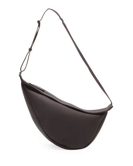 THE ROW Large Slouchy Banana Bag in Luxe Grain Leather