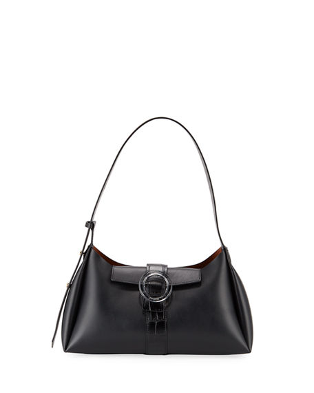 IMAGO-A Exclusive Two-Tone Shoulder Bag