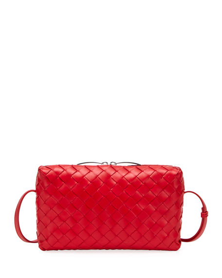 Bottega Veneta Nodini Woven Crossbody Bag