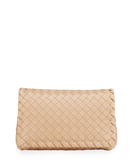 Bottega Veneta Small Full Flap Intrecciato Crossbody Bag