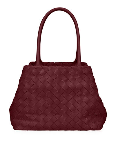 Mini Woven Top Handle Bag