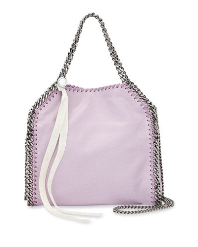 Falabella Mini Tote Bag with Logo Ribbon