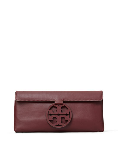 Tory Burch Miller Leather Clutch Bag