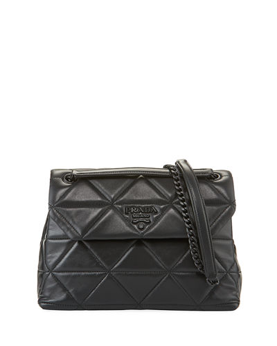 Spectrum Napa Quilted Shoulder Bag