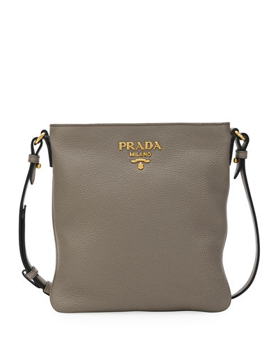 Daino Crossbody Bag w/ Removable Web & Leather Straps