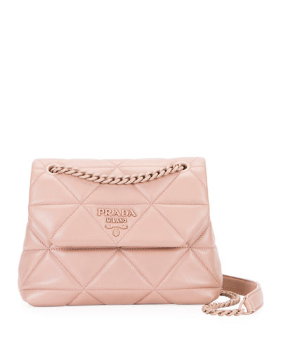 Small Spectrum Quilted Shoulder Bag