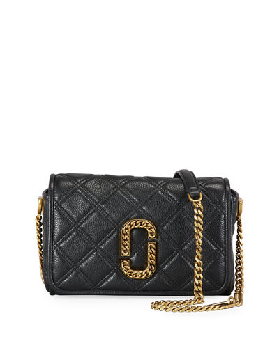 Quilted Medallion Crossbody Bag