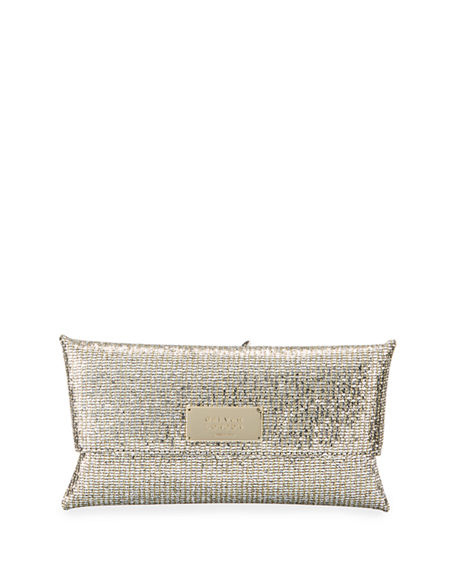 Galvan Glitter Cocktail Clutch Bag