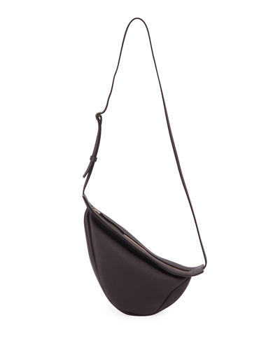 Small Slouchy Banana Bag in Calf Leather