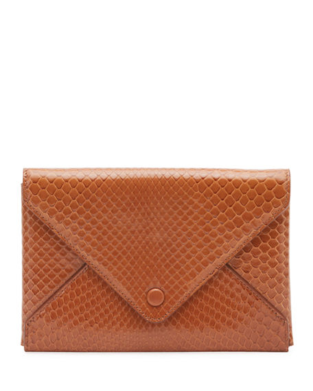 THE ROW Envelope Pouch in Python