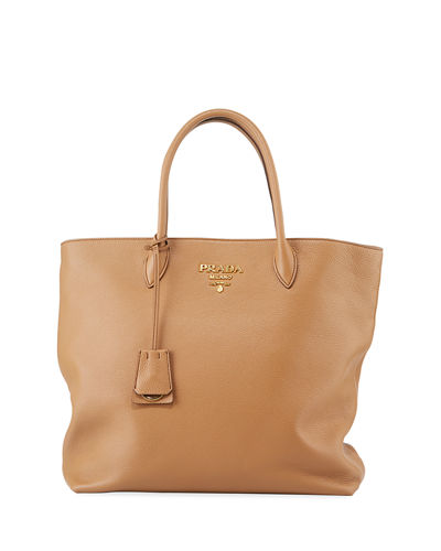 Prada Daino Shopper Tote Bag