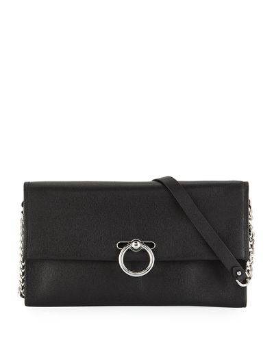 Jean Convertible Leather Clutch Bag