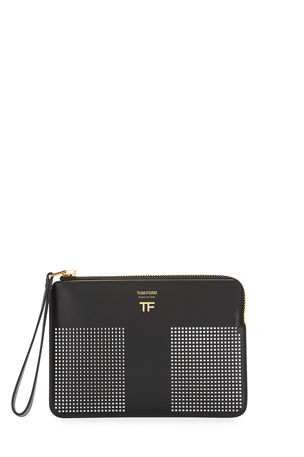 TOM FORD Graphic T Clutch Bag