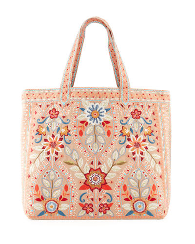 Maisie Embroidered Everyday Tote Bag