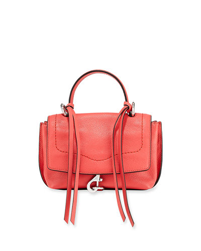 Stella Mini Leather Satchel Bag