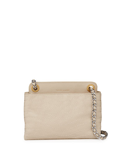 MAB Wave Double Zip Crossbody Bag